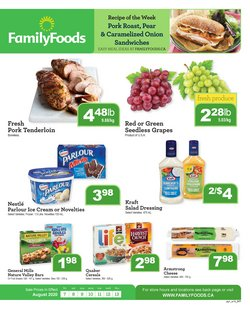 Family Foods catalogue ( 2 days left )
