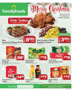 Family Foods catalogue ( Expired )