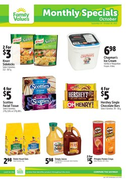 Grocery deals in the Family Foods catalogue ( 3 days left)