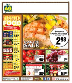 AG Foods deals in the Calgary flyer