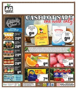 AG Foods catalogue ( 2 days left )