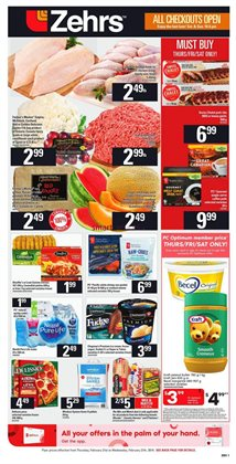 Grocery offers in the Zehrs Markets catalogue in Guelph