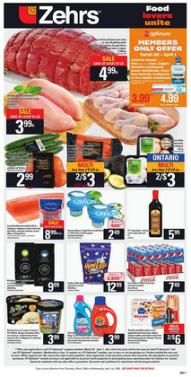 Zehrs Markets catalogue ( 2 days ago )