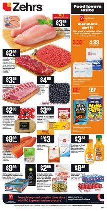 Grocery offers in the Zehrs Markets catalogue in Toronto ( 3 days left )