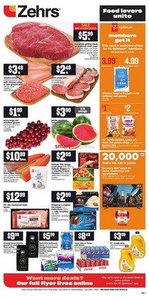 Zehrs Markets catalogue ( 3 days left)