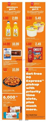 Grocery deals in the Zehrs Markets catalogue ( Expires tomorrow)