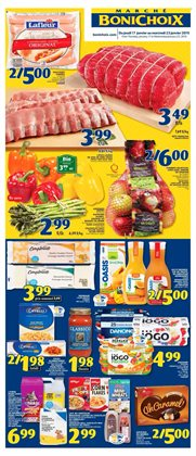 Grocery offers in the Marché Bonichoix catalogue in Victoriaville