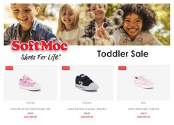 Clothing, Shoes & Accessories deals in the Softmoc catalogue ( Published today)