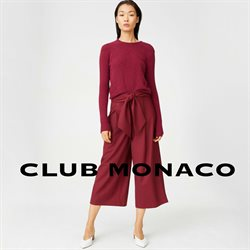 Club Monaco deals in the Toronto flyer