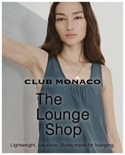 Club Monaco deals in the Club Monaco catalogue ( 29 days left)