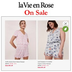 Clothing, Shoes & Accessories deals in the La Vie en Rose catalogue ( Published today)