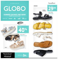 Clothing, Shoes & Accessories deals in the Globo catalogue ( Expires tomorrow)
