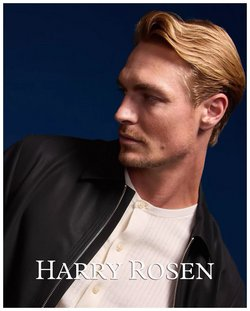 Luxury Brands deals in the Harry Rosen catalogue ( More than a month)