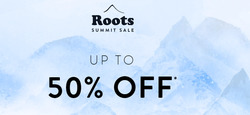 Roots Canada deals in the Toronto flyer