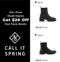 Call it Spring deals in the Call it Spring catalogue ( 2 days left)