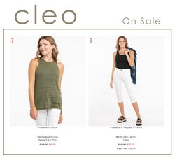 Cleo deals in the Cleo catalogue ( Published today)