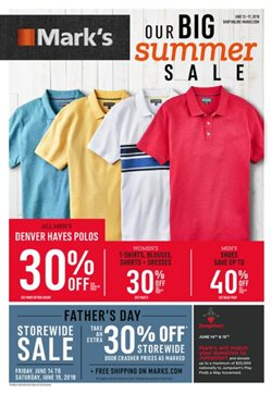 Mark's deals in the Rouyn-Noranda flyer