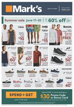 Mark's deals in the Mark's catalogue ( Expired)