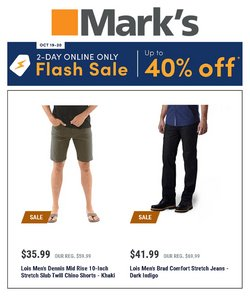 Mark's catalogue ( Expires today)