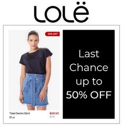 Lolë deals in the Lolë catalogue ( 9 days left)
