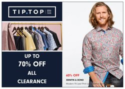 Tip Top Tailors deals in the Tip Top Tailors catalogue ( 17 days left)