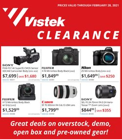 Vistek catalogue ( 3 days left )