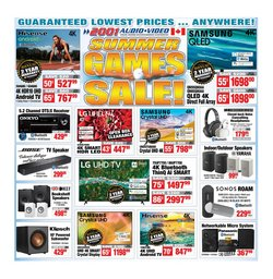 Electronics deals in the 2001 Audio Video catalogue ( 1 day ago)