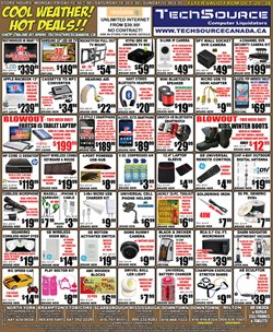 Electronics & Appliances offers in the TechSource catalogue in Toronto