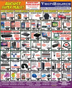 Electronics offers in the TechSource catalogue in Toronto