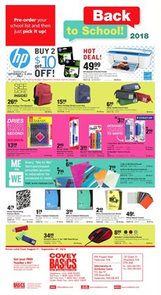 Covey Basics deals in the Ottawa flyer