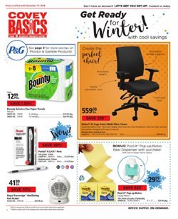 Covey Basics deals in the Victoria BC flyer