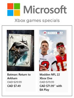 Microsoft deals in the Microsoft catalogue ( 1 day ago)