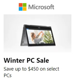 Microsoft deals in the Calgary flyer