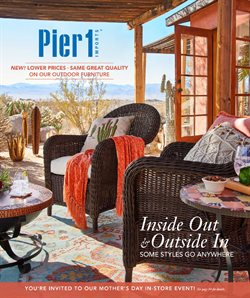 Pier 1 Imports deals in the Calgary flyer