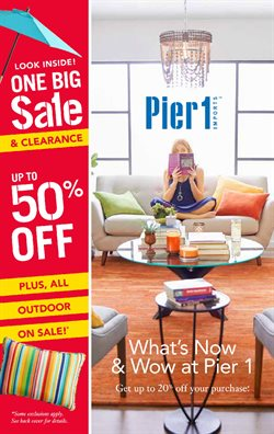 Pier 1 Imports deals in the Toronto flyer