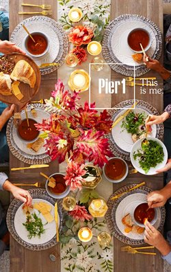 Pier 1 Imports deals in the Victoria BC flyer