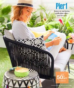 Pier 1 Imports deals in the Guelph flyer