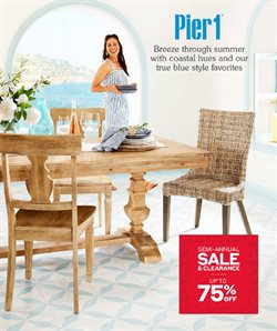 Pier 1 Imports catalogue ( Expired )