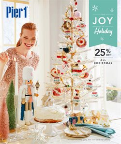 Pier 1 Imports deals in the Edmonton flyer