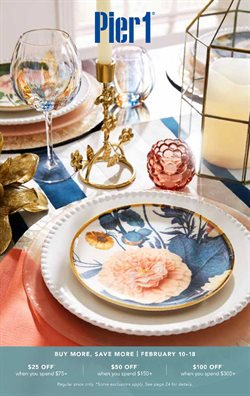 Home & Furniture offers in the Pier 1 Imports catalogue in Vancouver ( 5 days left )