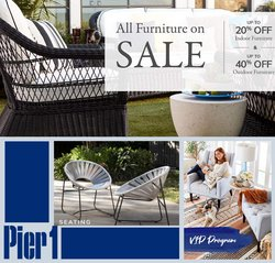 Pier 1 Imports catalogue ( 4 days left)