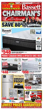 Bad Boy Superstore deals in the Mississauga flyer