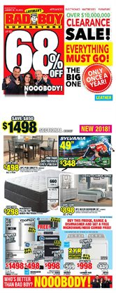 Bad Boy Superstore deals in the Toronto flyer