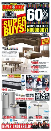 Bad Boy Superstore deals in the Richmond Hill flyer