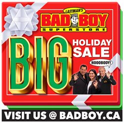 Bad Boy Superstore catalogue ( Expired )