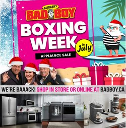 Electronics deals in the Bad Boy Superstore catalogue ( 3 days left)