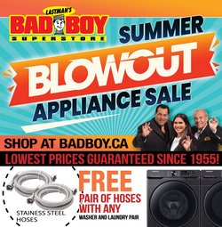 Electronics deals in the Bad Boy Superstore catalogue ( 1 day ago)