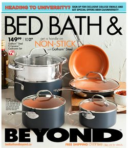 Home & furniture offers in the Bed Bath & Beyond catalogue in Vancouver