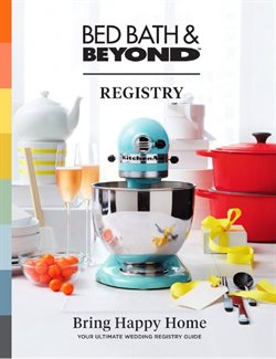Bed Bath & Beyond catalogue ( More than a month )