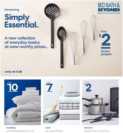 Bed Bath & Beyond deals in the Bed Bath & Beyond catalogue ( Expired)